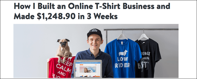 How To Start An Online T Shirt Business In 2016